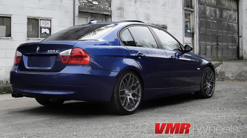 VMR Wheels V710 18inch Gunmetal on 328xi