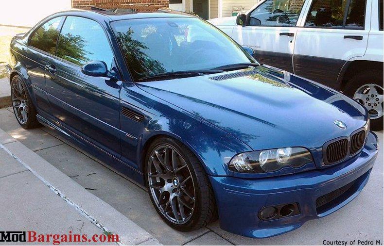 BMW E46 M3 VMR V710 Gunmetal