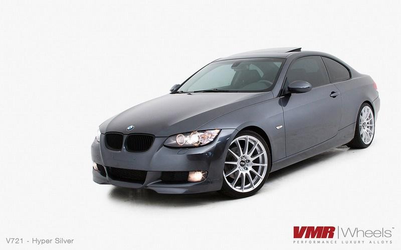 VMR Wheels V721 Hyper Silver on BMW