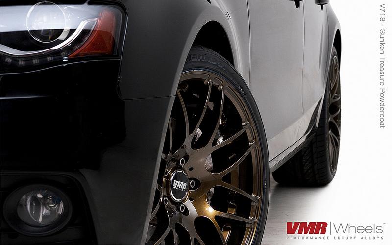 VMR V718 Wheels Sunken Treasure on B8 Audi A4