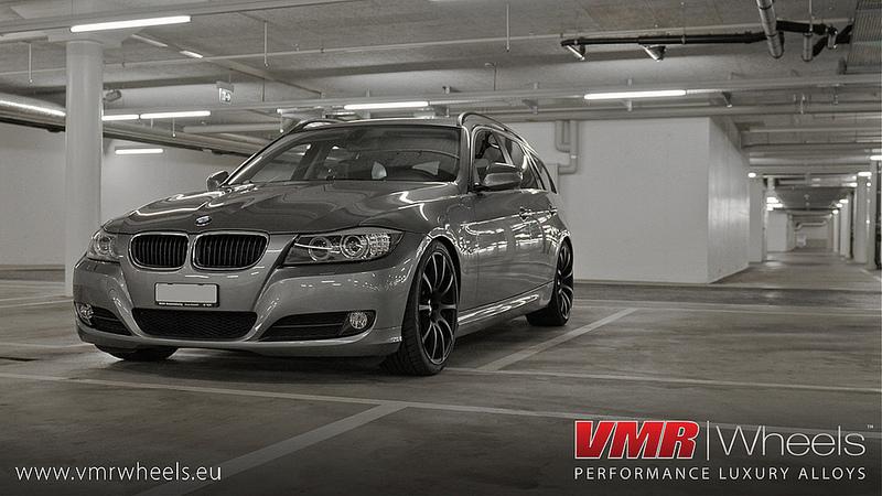 VMR Wheels V701 Advan RS Style Matte Black BMW