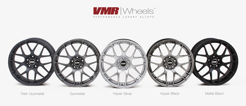 VMR V710 Wheels 18inch Non-Staggered Finishes