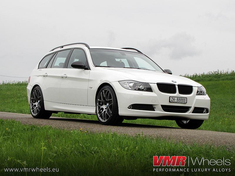 VMR Wheels V710 18inch Non Staggered Gunmetal BMW