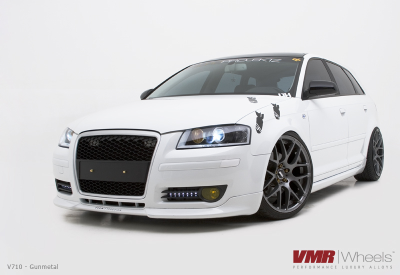 VMR Wheels V710 Gunmetal on Audi