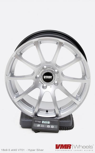 VMR V701 et45 Hyper Silver