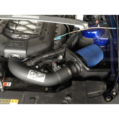 aFe Magnum Force Pro 5R Stage 2 Intake System for Ford Mustang 5.0L Installed