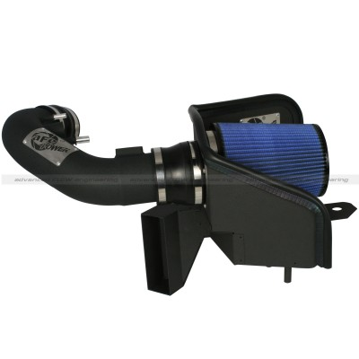aFe Magnum Force Pro 5R Stage 2 Intake System for Ford Mustang 5.0L Side View