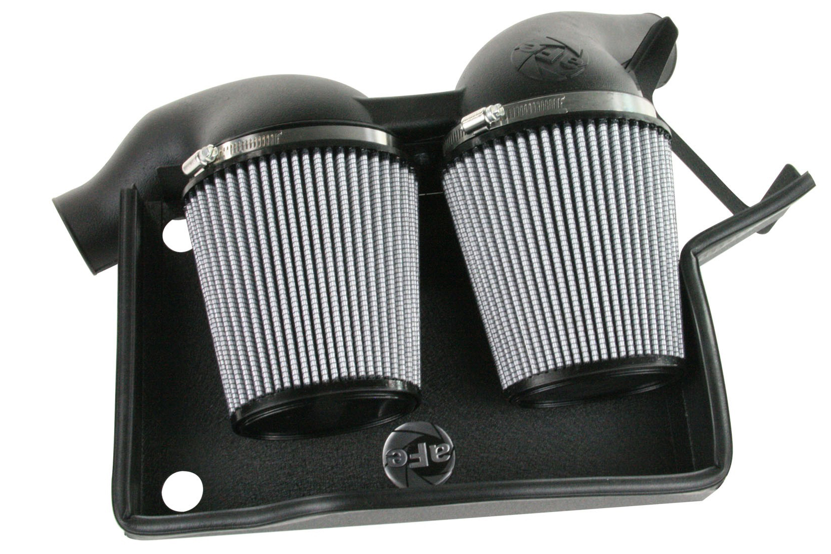 aFe Magnum FORCE Stage 2 Si Air Intake for 2006-10 BMW 135i/1M/335i/535i/Z4 N54 [E82/E90/E92/E60] 1
