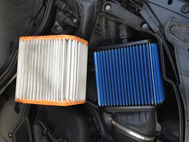 aFe High Performance Drop-In Filters E90/E92/E93 M3 Comparison