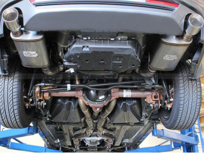 aFe MACH Force XP exhaust system for the 2011-2014 Ford Mustang GT