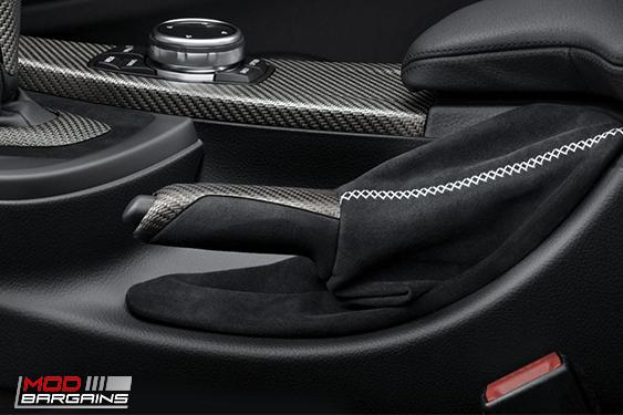 f3x 3-series 4-series M Performance Parking Brake Handle with Alcantara Boot - BMW (34-40-2-222-540) TRIM for , Modbargains