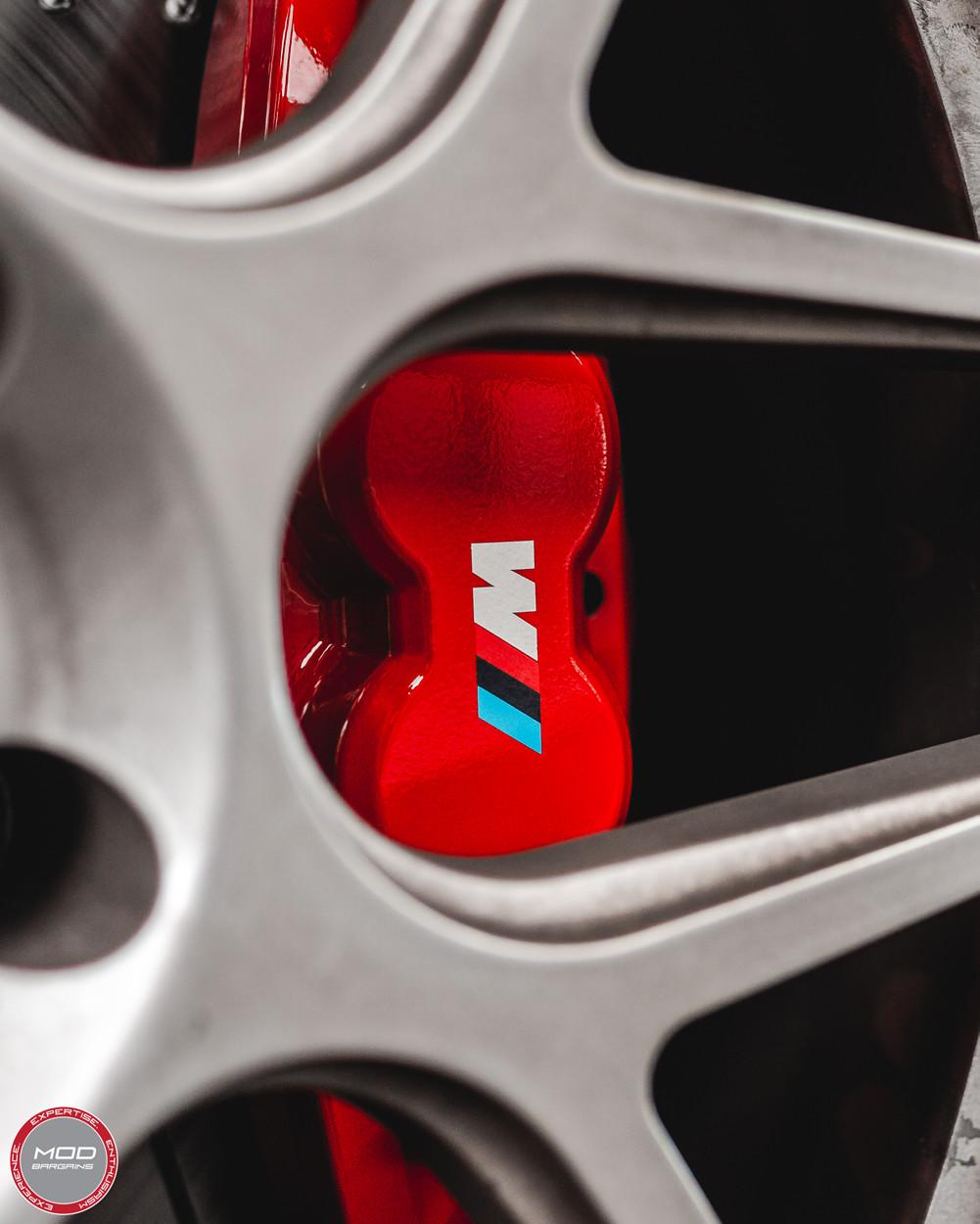 Red BMW M Performance Big Brake Kit for 2012+ BMW 328i/335i [F30] 34112221445/34206797600