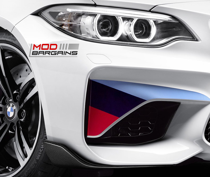 BMW M2 Winglets Close
