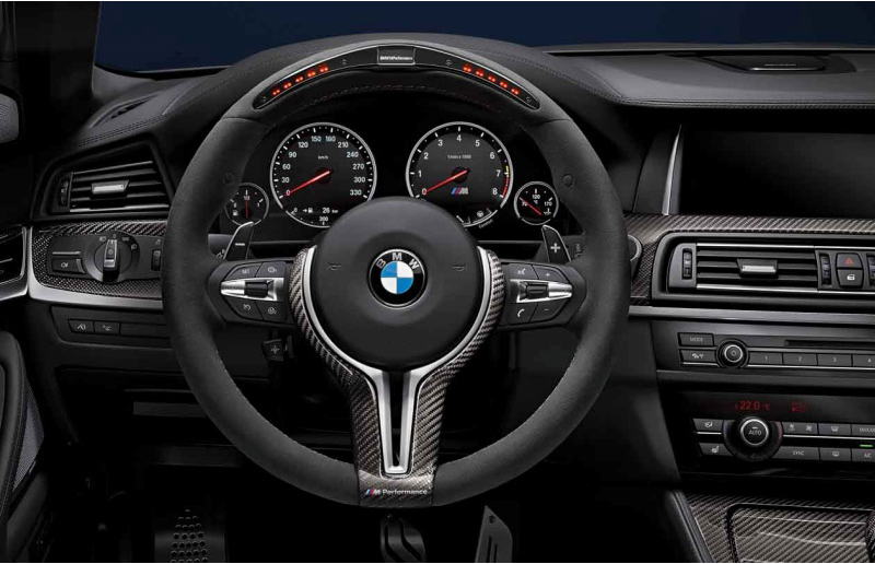 Electronic M Performance Steering Wheel
