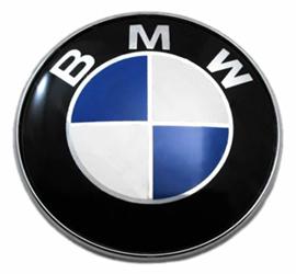 Get your OEM BMW Hood/Trunk Emblem Roundel at ModBargains.com