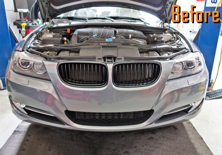 M Sport Front Bumper for 2006-2012 BMW 3 Series Sedan E90