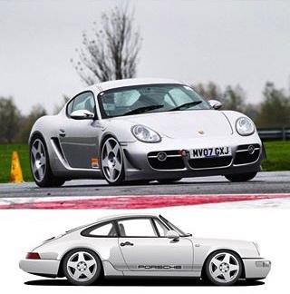 alt Porsche comp with fifteen52 Tarmac Wheels