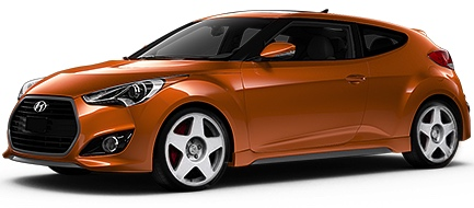 Hyundai Veloster with fifteen52 Tarmac Wheels