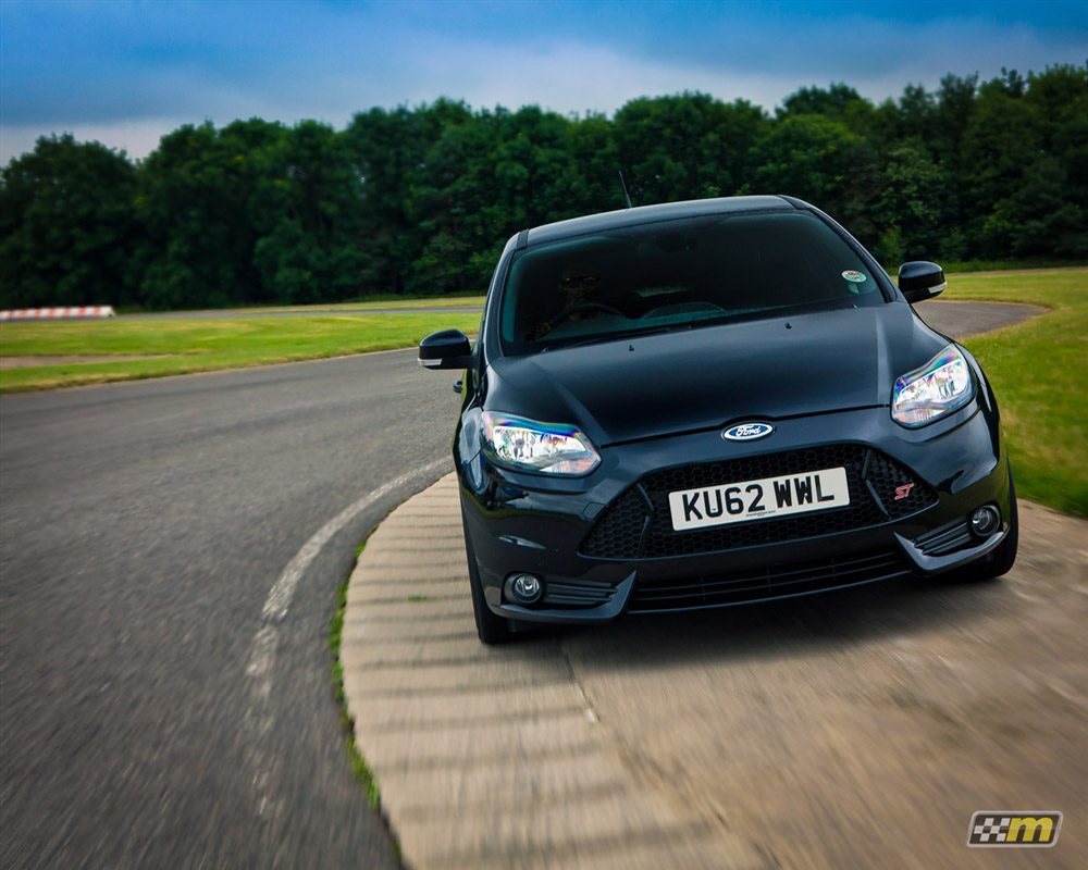 Front Ford Focus ST with Mountune Lowering Springs