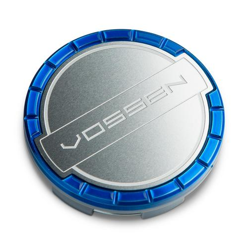 Vossen Billet Sport Center Cap Fountain Blue/Brushed