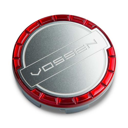 Vossen Billet Sport Center Cap Vossen Red/Brushed