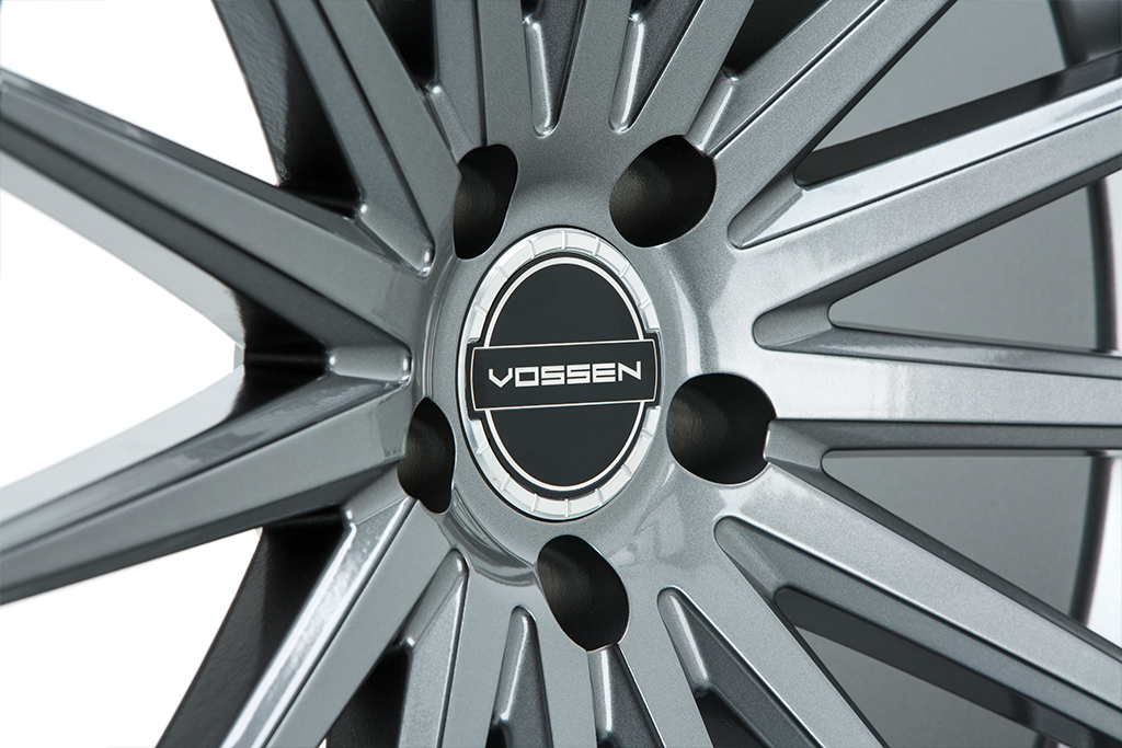 Vossen Billet Sport Cap Clear with Black Center