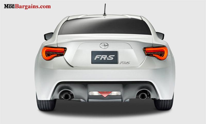 Valenti LED Tail Lights Scion FR-S Subaru BRZ Installed