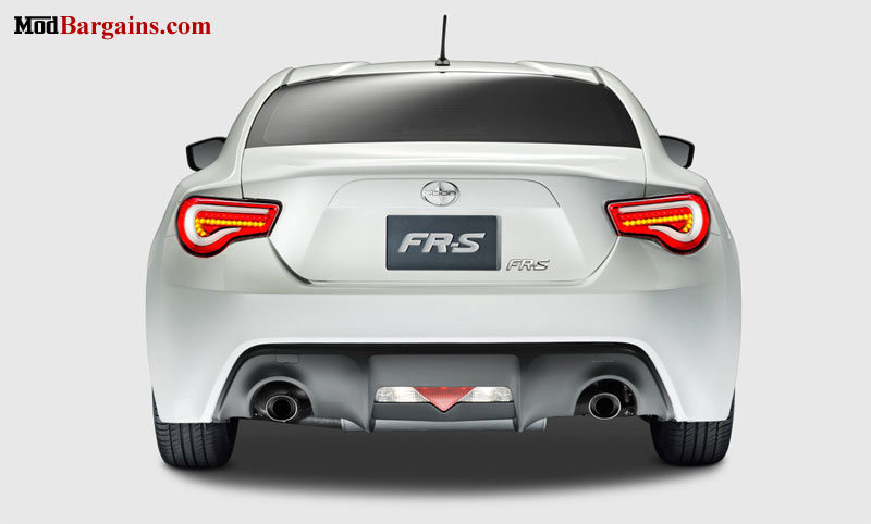 Valenti LED Tail Lights Scion FR-S Subaru BRZ Installed