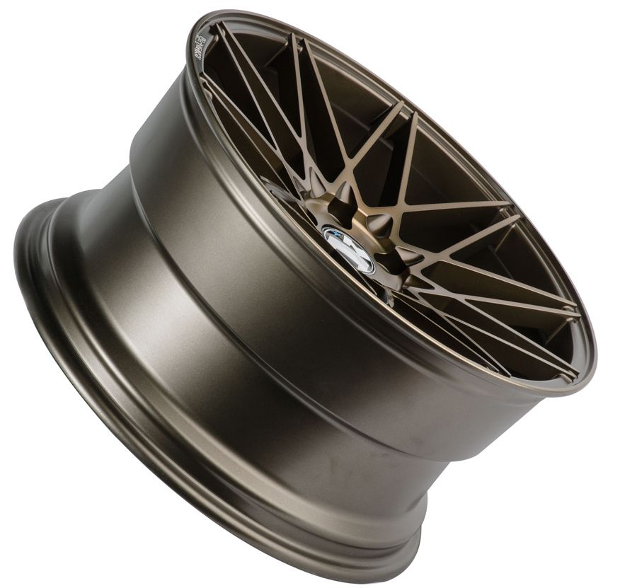 "Klutch Wheels KM20 19"" Concave Mesh Bronze Rims"