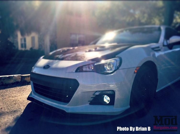 Carbon Fiber Vented Hood for 2012-14 Scion FR-S/Subaru BRZ [ZN6/ZC6] TS Style by Seibon 2