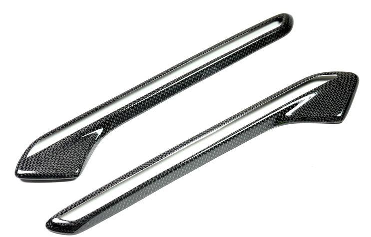Carbon Fiber Fender Light Trim Cover for BMW M6 (2)