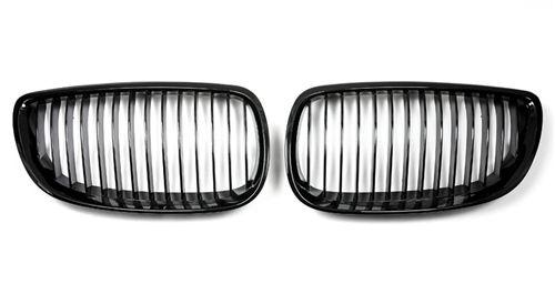 BMW E92/E93 Gloss Black Kidney Grilles for 2007-2010 Pre-LCI BMW 3 Series Coupe
