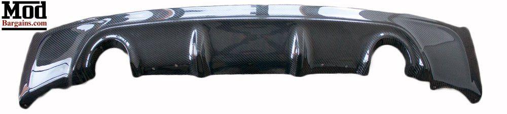 Rear View of Carbon Fiber Rear Diffuser BMDI2221