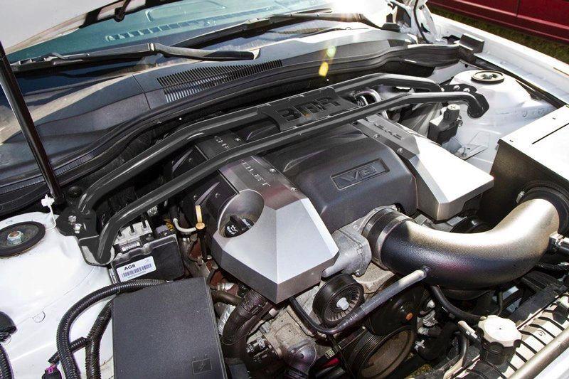 BMR Suspension 2011-14 Camaro 2 Point Strut Brace Installed 2