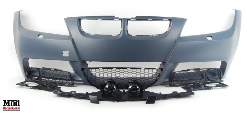 M Sport Front Bumper for 2006-2012 BMW 3 Series Sedan E90
