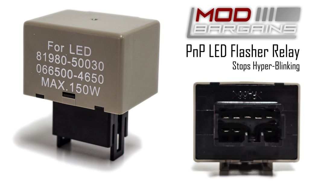Diode Dynamic LED Flasher Relay CF18