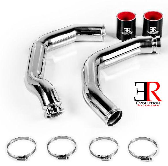 Evolution Racewerks Charge Pipes for S55 2014+ BMW M3 & M4 [F80/F82] BM-ICP015