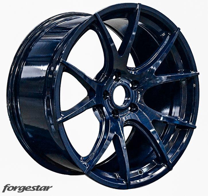 Forgestar CF5V Wheels Midnight Blue for BMW 19in 20in 5x120mm