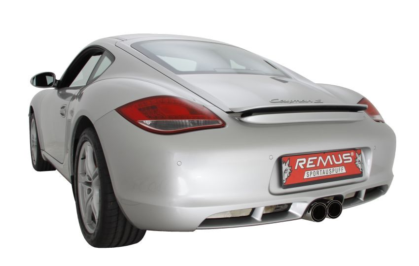 Remus Sport Exhaust for Porsche Cayman S/Boxster S 987 (4)