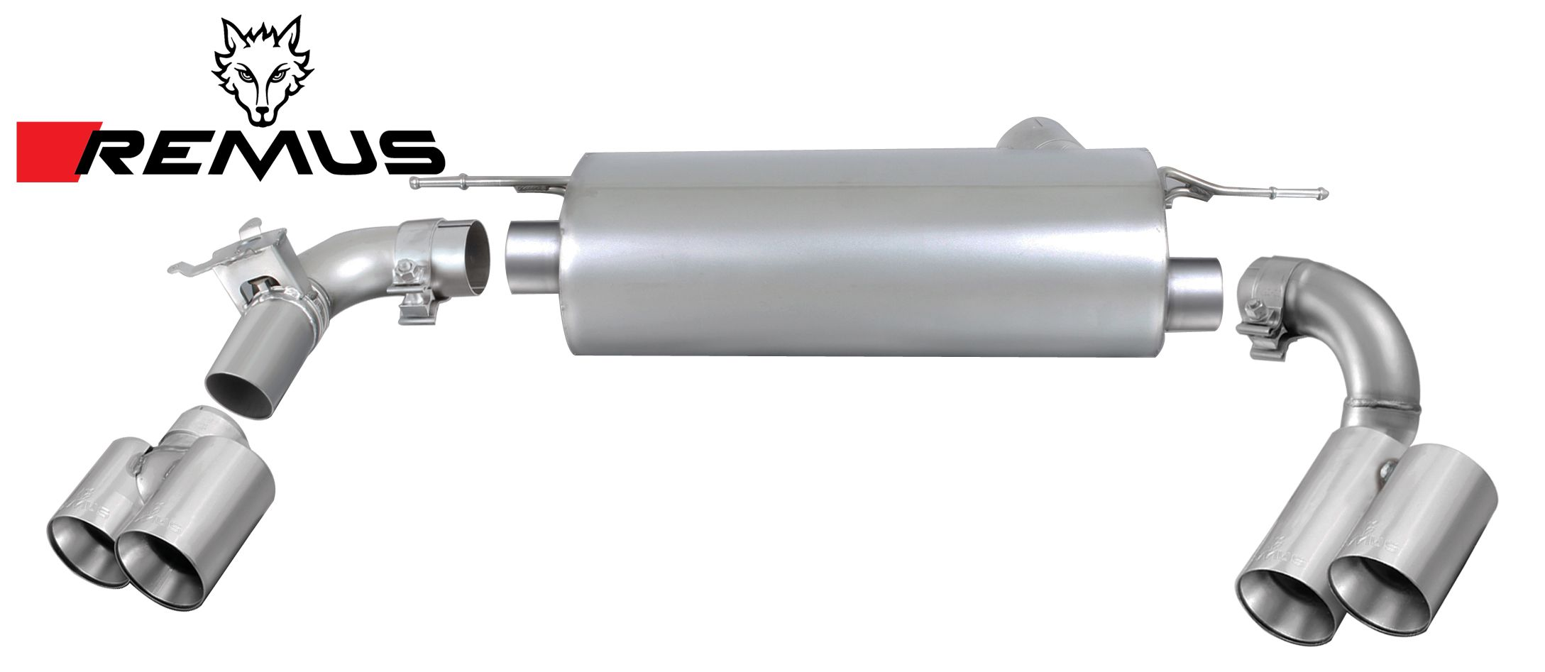 Remus Sport Exhaust System for BMW F30 LCI