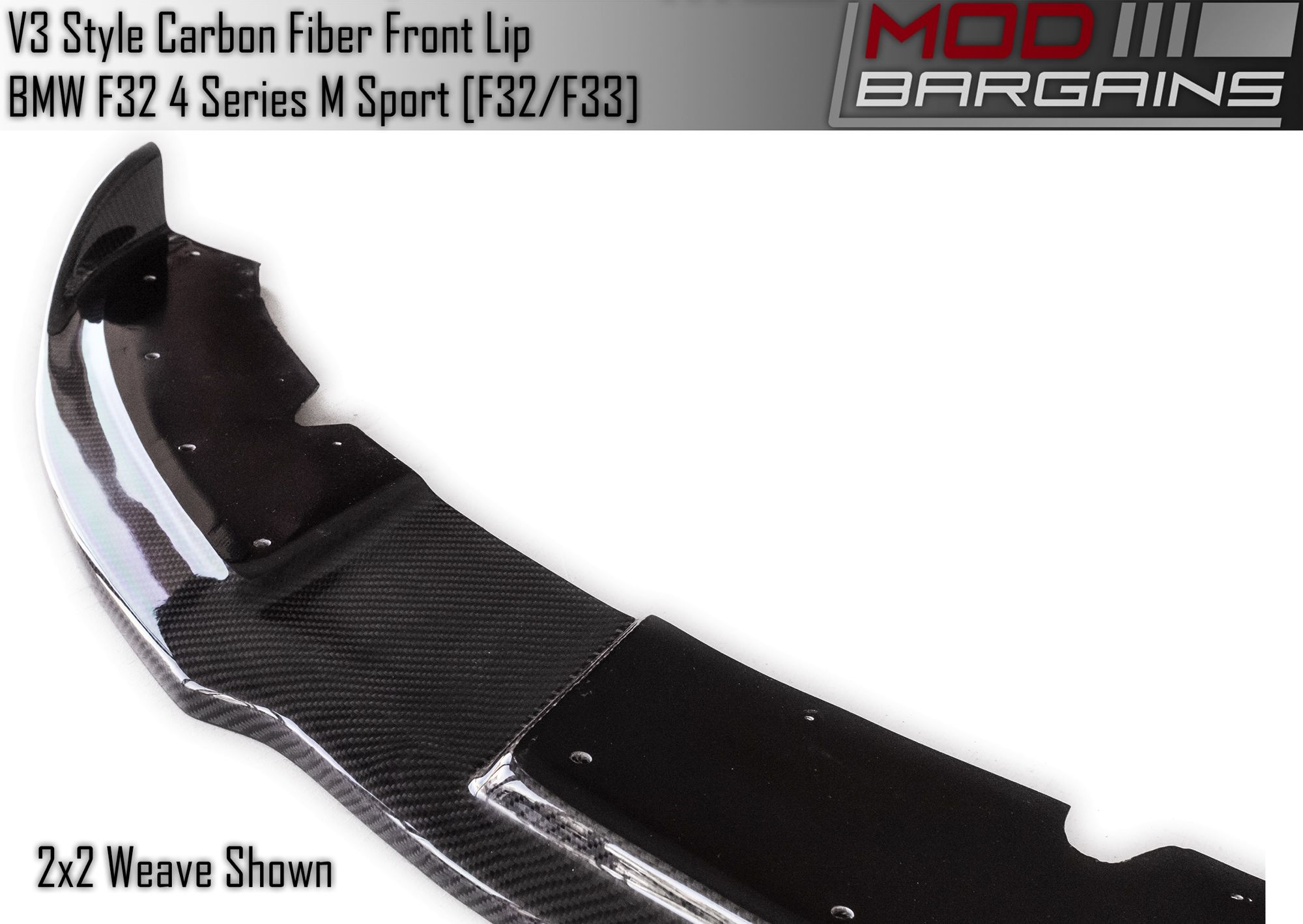 Carbon Fiber V3 Front Lip BMFS3225