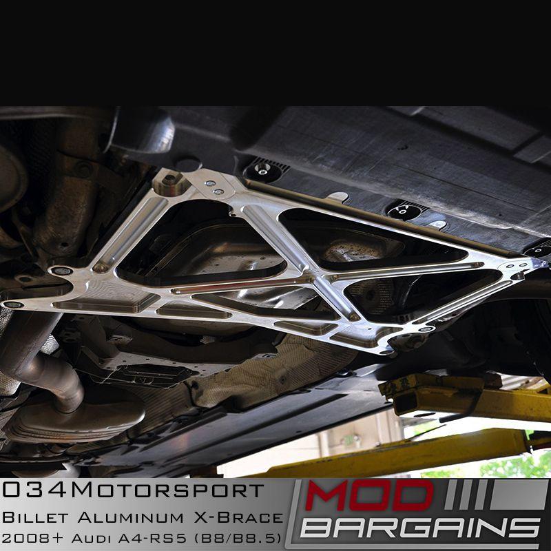 034Motorsport Billet Aluminum X-Brace Installed