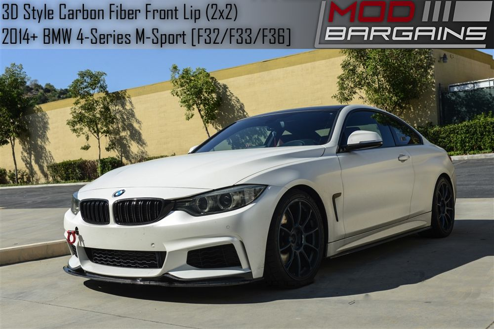 Carbon Fiber 3D Style Front Lip for BMW F32 BMFS3226