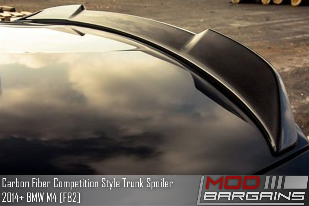 AutoTecknic Carbon Fiber Competition Style Rear Spoiler BMW [F82] M4 BM-0289