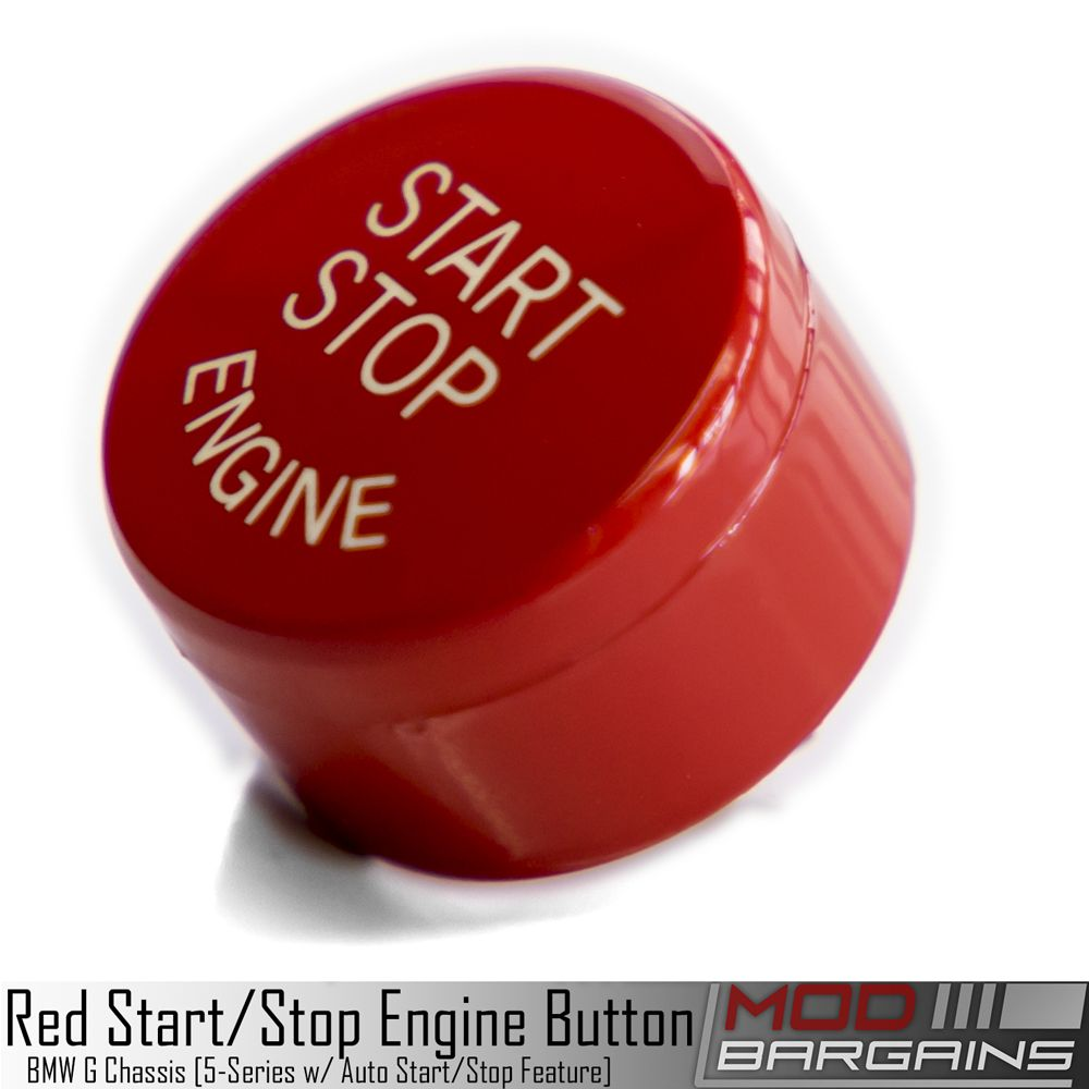 BMW Auto Start Stop Red Button for G Chassis vehicles. G30