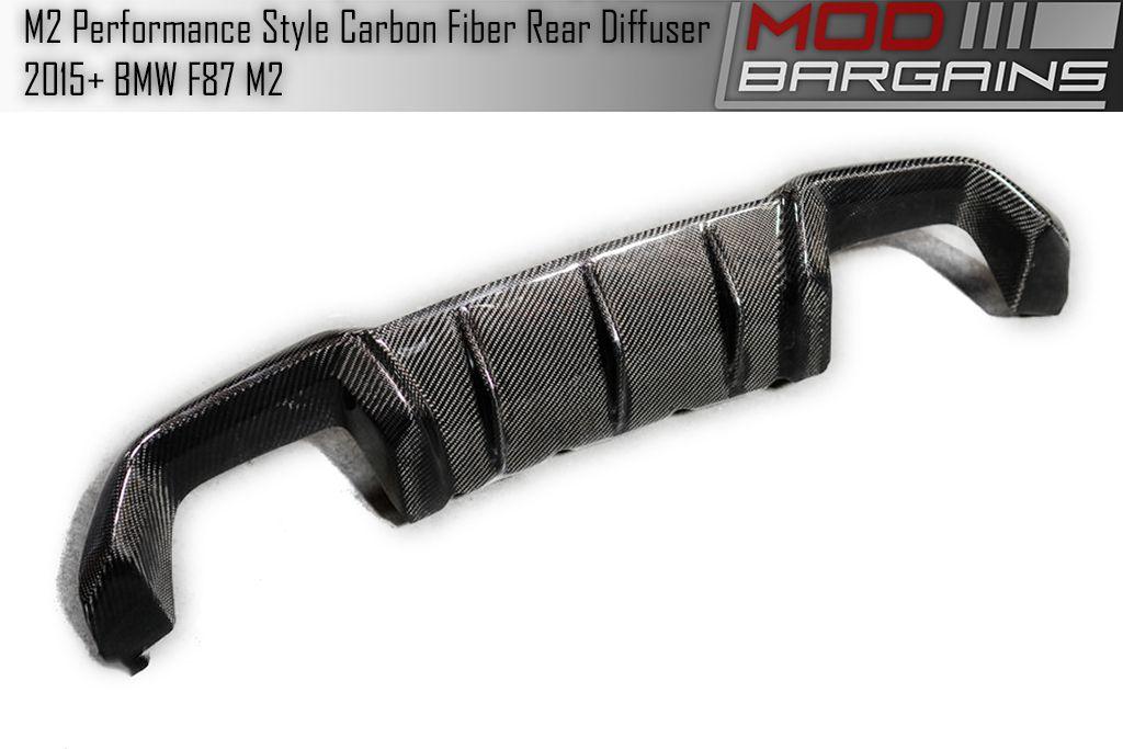 Carbon Fiber Rear Diffuser for BMW M2 BMDI8701