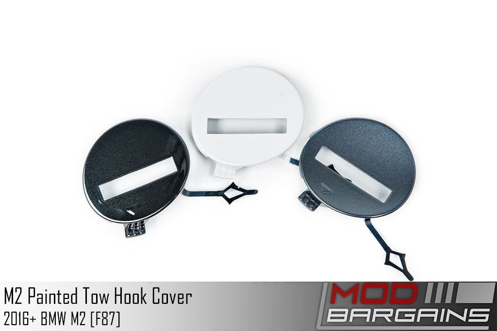 Painted Front Tow Hook Bumper Plugs IND-F87-FTOW