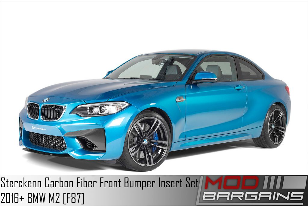 Sterckenn Carbon Fiber Front Fiber Insert Set for 2016 BMW M2