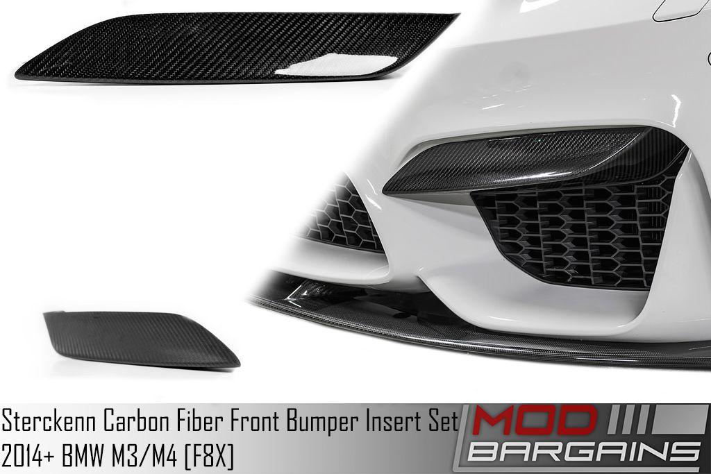 Sterckenn Carbon Fiber Front Fiber Insert Set for 2015+ BMW M3/M4