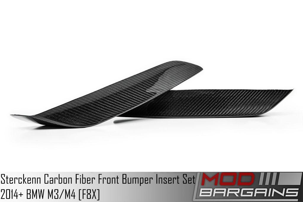 Sterckenn Carbon Fiber Front Bumper Insert Set STERCKENN-F8X-CFFBI